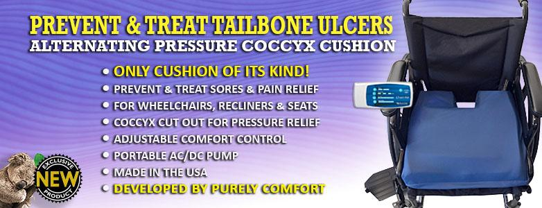 Alternating Pressure Coccyx Cushion
