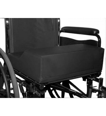 anti thrust wheelchair cushion