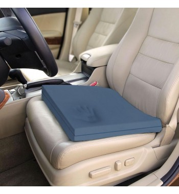 Viscotec memory foam car seat cushion