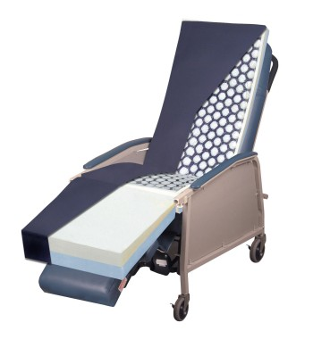 Bariatric Gel Recliner Overlay