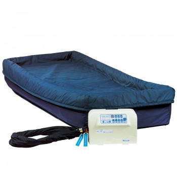 power turn lateral rotation mattress system