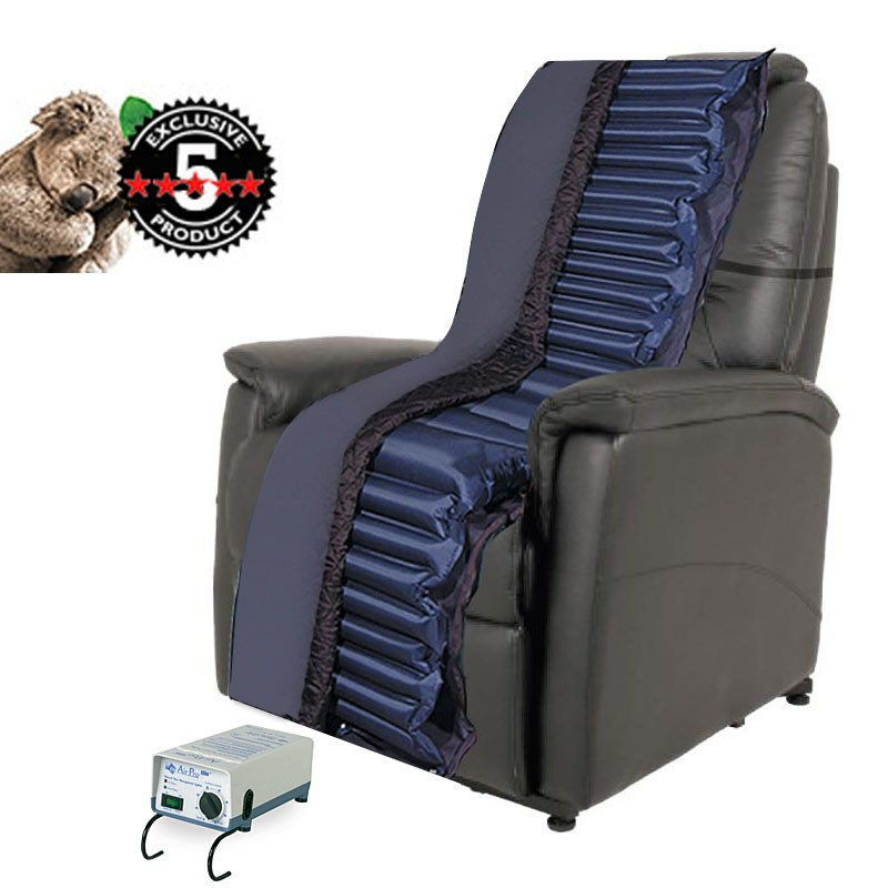 Alternating Pressure Recliner Overlay Fits Lazy Boy and Lift Chairs
