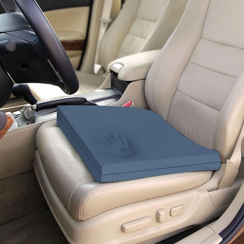 Memory Foam Car Truck Seat Overlay Blue Chip Premium