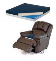GEL RECLINER SEAT CUSHION For Lazy boy & lift chairsSupports 350