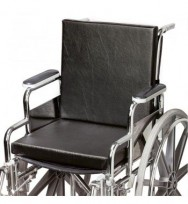 solid seat & solid back wheelchair cushion