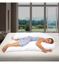 BODY PILLOWSHAPE TO POSITION Handcrafted in the US