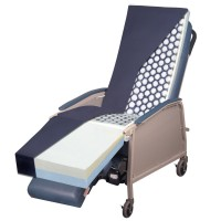 Gel Recliner Overlay Supports 400 lbs