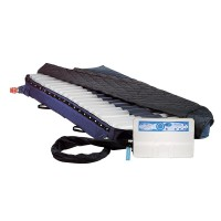 bariatric alternating pressure mattress with low air loss