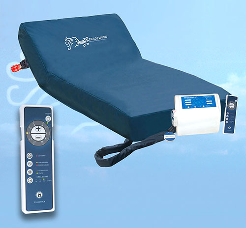 alternating pressure mattress with remote control