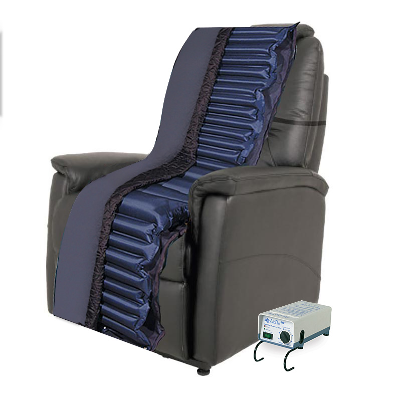 how to clean alternating pressure recliner cushion