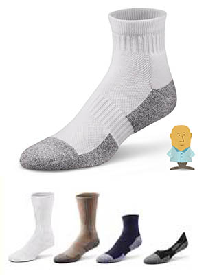 7be57a5b5d Dr Comfort Crew Socks Shape to Fit Diabetic or Compression Socks