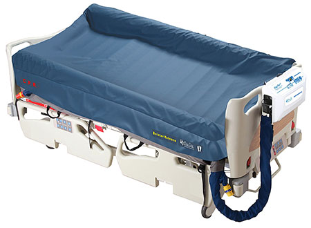 Patient sensing alternating pressure mattress